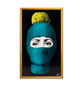 FORNASETTI Lux Gstaad Panel - Blue