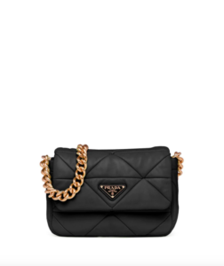 Prada System patchwork shoulder bag